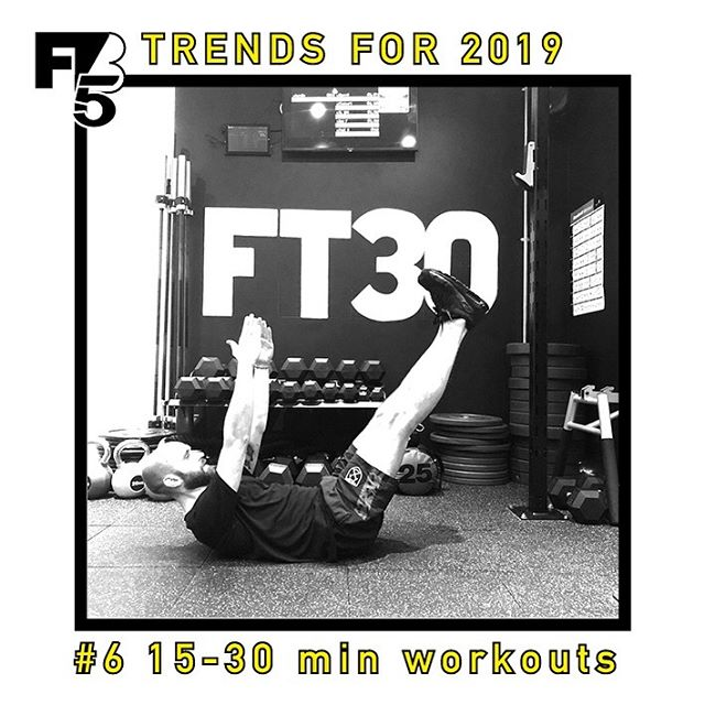 297281c03 FITNESS TRENDS 2018 6. MICRO WORKOUTS – spending hours in the gym is a  thing if the past. The introduction and rise of ⏱ short ...